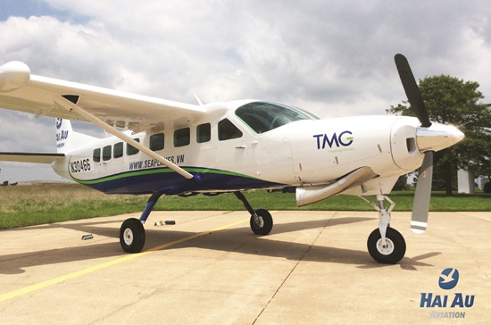 Thủy phi cơ Hai Au Aviation đang chuẩn bị chuyển về Việt Nam.